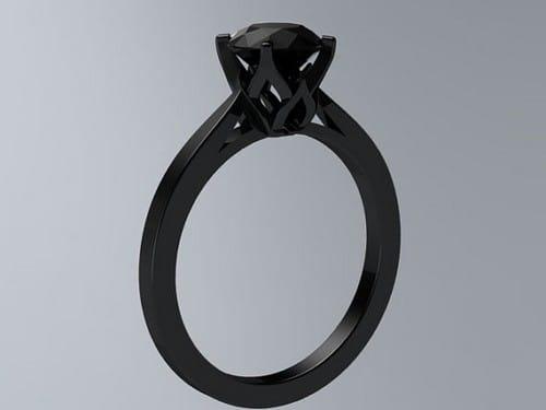 Black Gold Engagement Rings Reviews