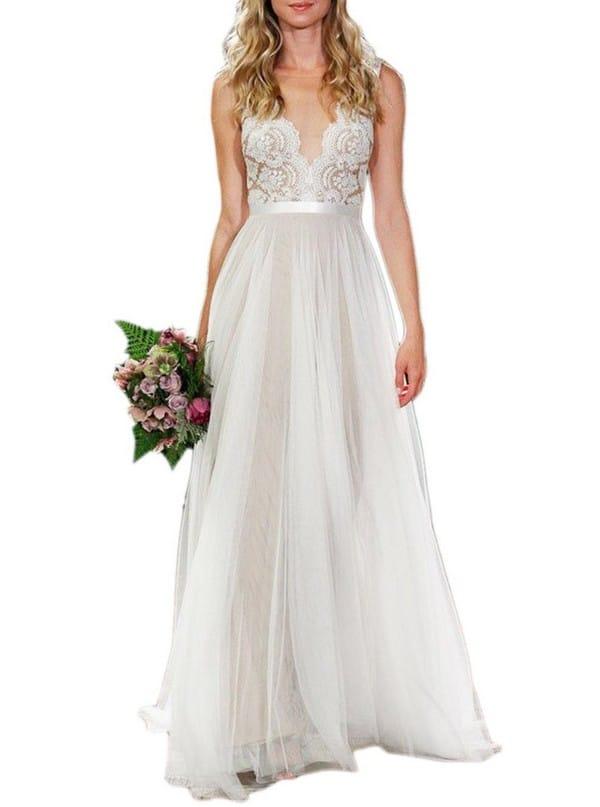 Bohemian Wedding Dresses Chicago