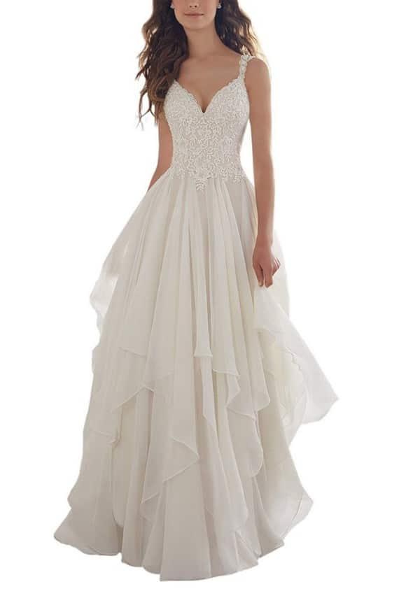 Boho Wedding Dresses Plus Size