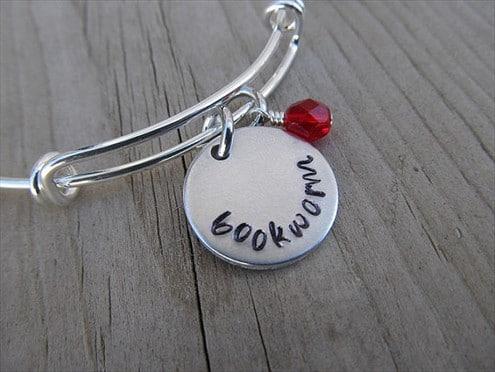 Bookworm Charm Bracelet