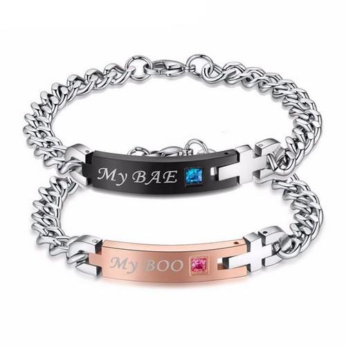 Dating exclusively boyfriend girlfriend bracelets