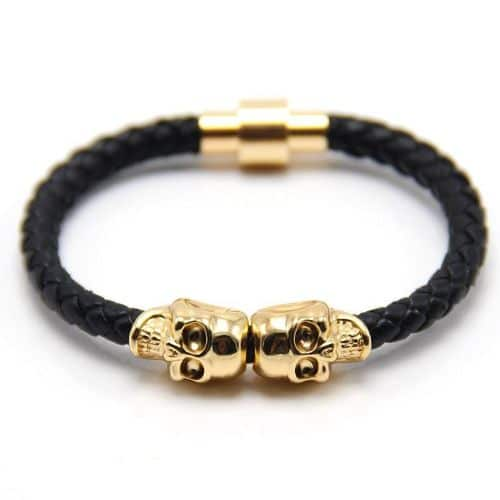 Braided Mens Leather Bracelets