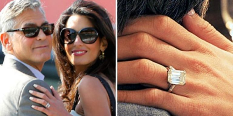 Celebrity Princess Cut Engagement Rings