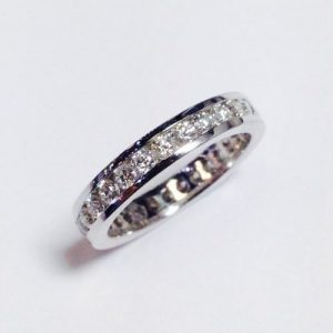 Channel Setting Eternity Ring