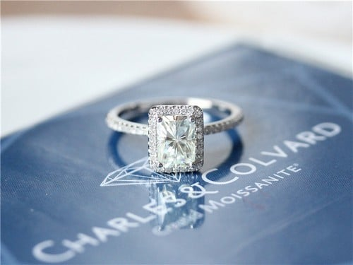 Charles And Colvard Moissanite Engagement Rings