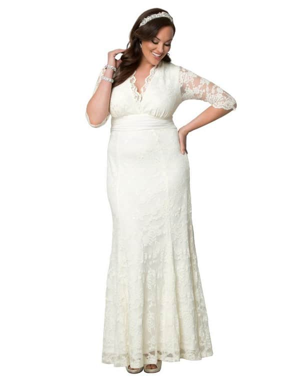 31 Unique Plus Size Wedding Dresses [2018] - Ring to Perfection