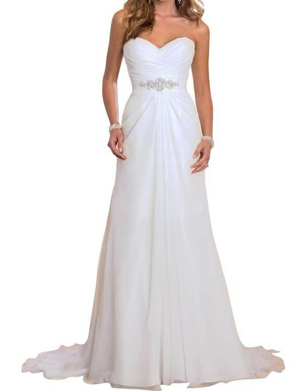 Cheap Wedding Dresses Online Under 500