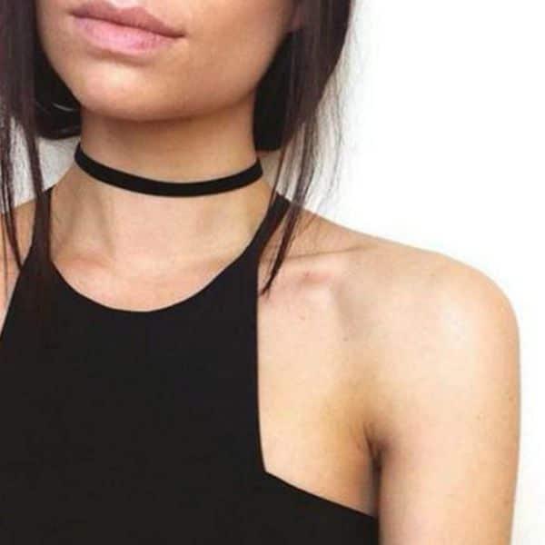 Choker Necklace Length