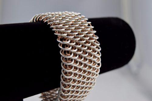 Chunky Rose Gold Bracelets