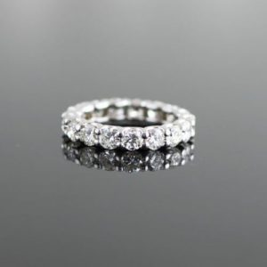 Claw Prong Setting Eternity Ring
