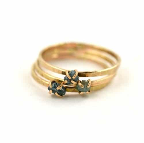Conflict Free Rough Diamond Rings