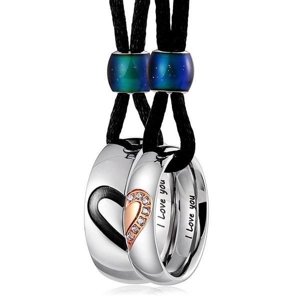 Couple Cross Necklaces