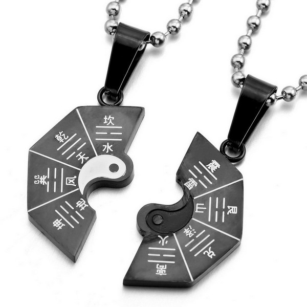 Couple Heart Necklaces