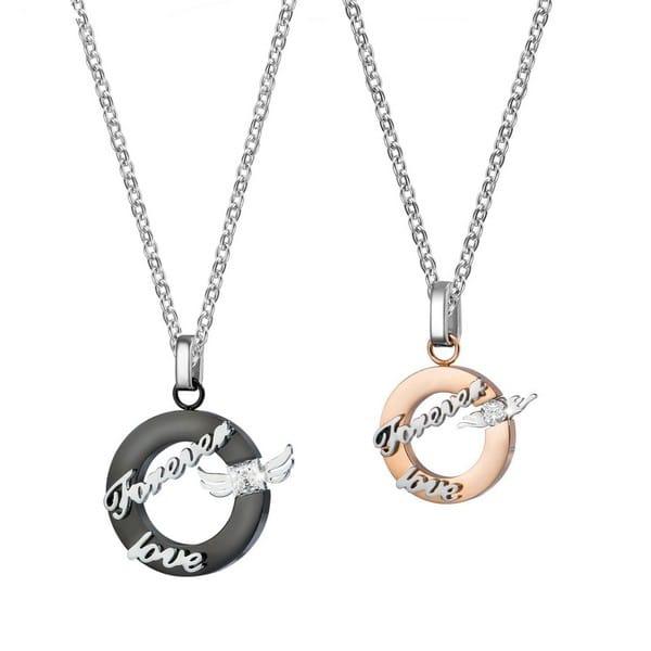 Couple Necklace Set Puzzle Piece