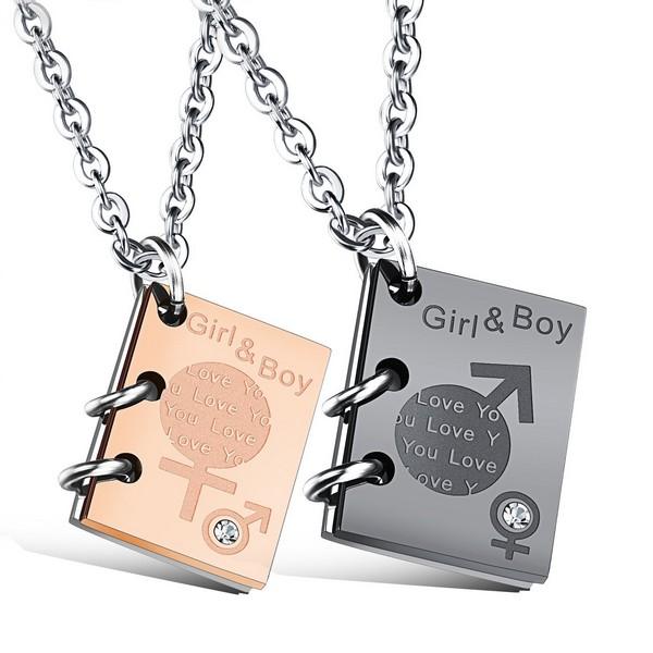Couple Necklaces Custom