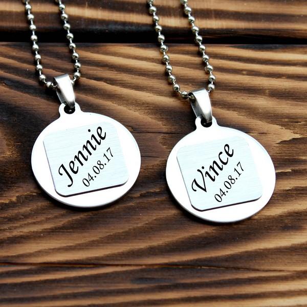 Couples Necklaces Set