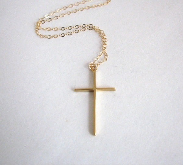 Cross Necklaces With Bible Verses
