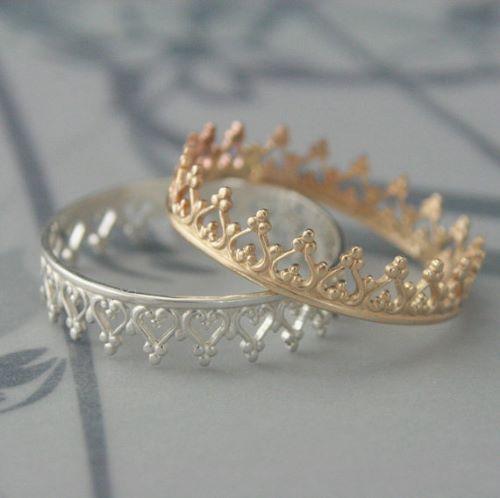 Crown Promise Rings