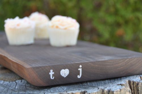 Custom Cutting Board Wedding Gift Perfection
