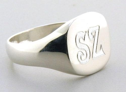 Custom Signet Ring Engraving
