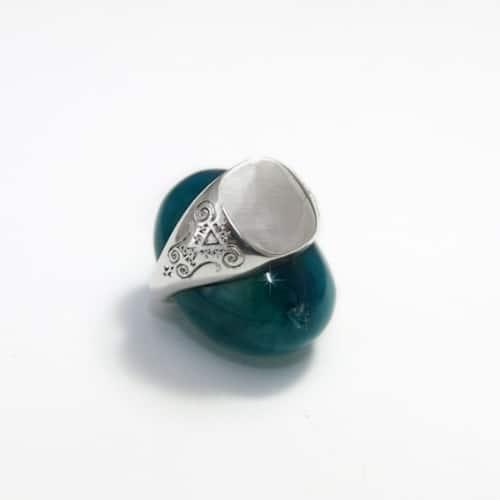 Custom Silver Signet Ring