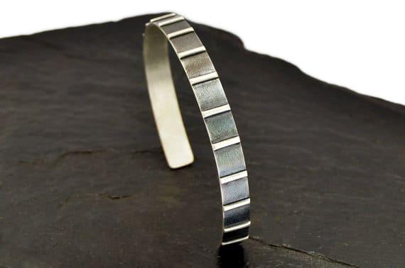 Custom Sterling Silver Bracelets For Men