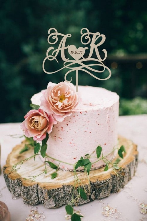 Custom Wedding Cake Toppers Photos
