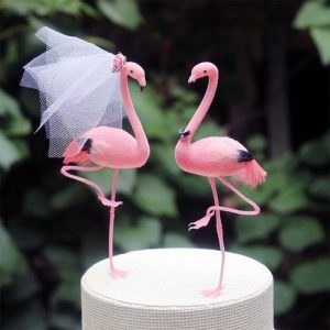 Custom Wooden Wedding Cake Toppers