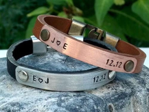 Customized Bracelets For Couples