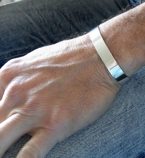 Customized Silver Bracelets For Men