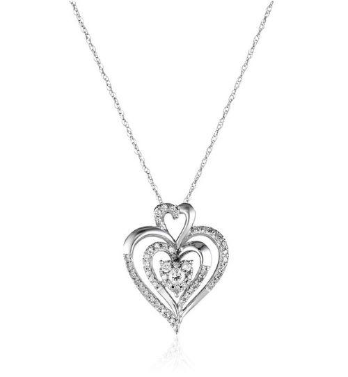 Diamond Heart Necklace
