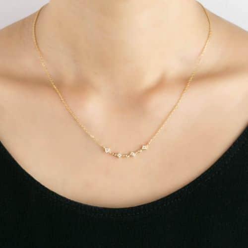 Diamond Necklace Price