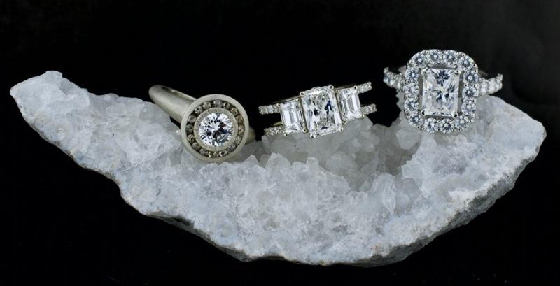 Diamond vs Lab-grown Diamond vs Moissanite