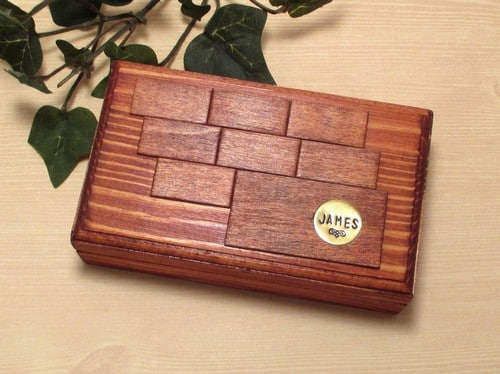 Dilliards Mens Jewelry Box