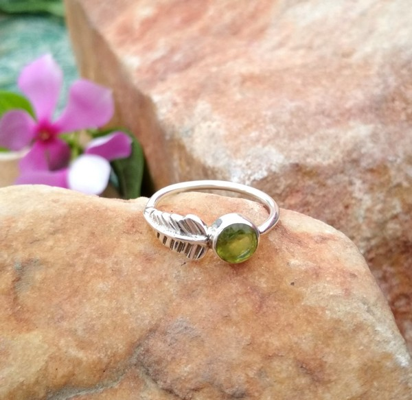 Ebay Peridot Rings