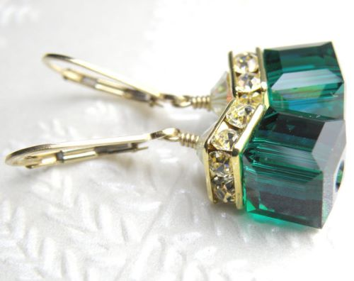 Emerald Earrings Canada