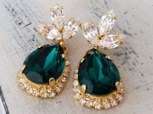 Emerald Earrings For Sale