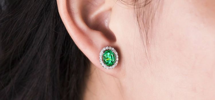 19 Beautiful Natural Emerald Earrings