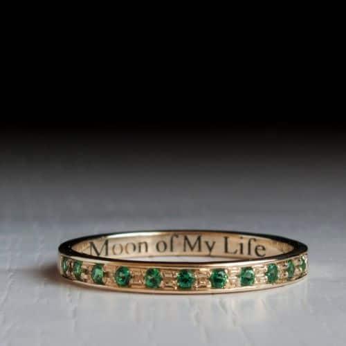 Emerald Eternity Ring