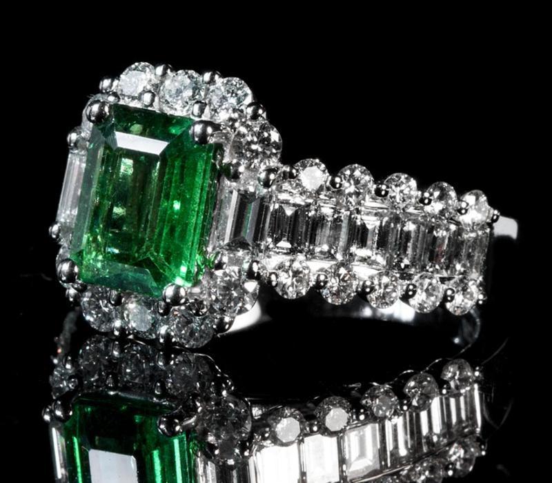 Emerald Ring Stone Shape