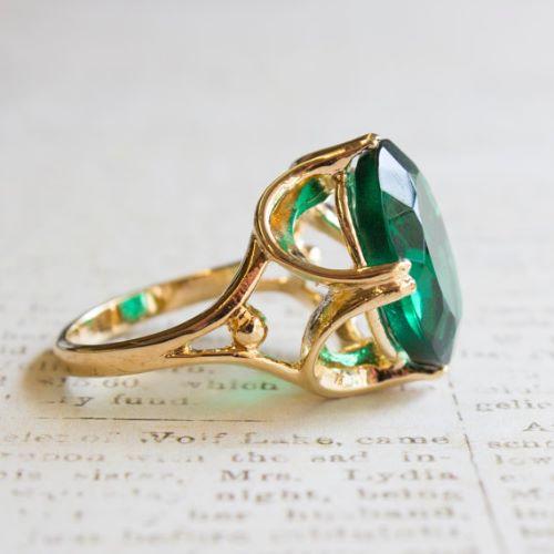 Emerald Rings Ebay
