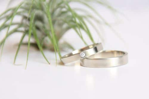 Engagement And Wedding Ring Sets In White Gold
