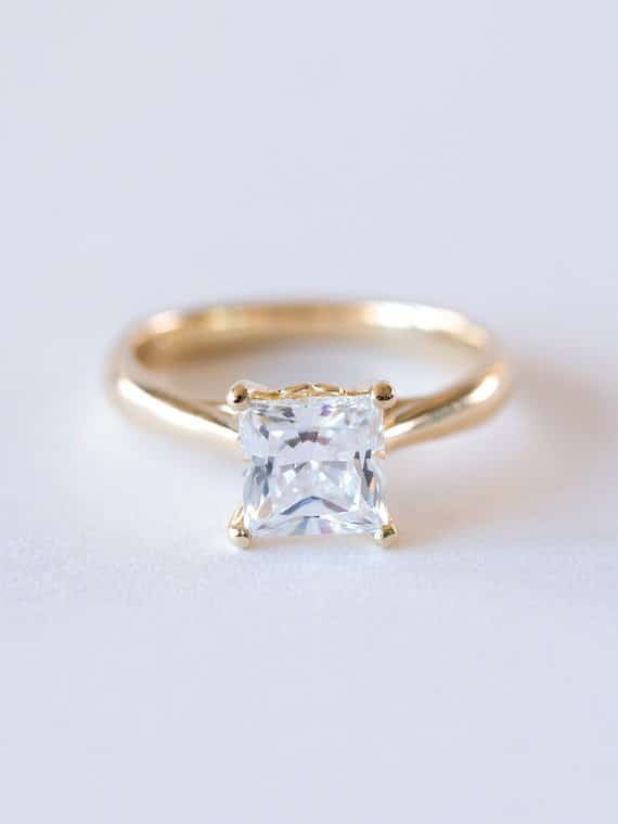 Engagement Rings Princess Cut