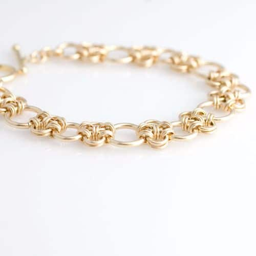 Etsy Gold Chain Bracelets For Men