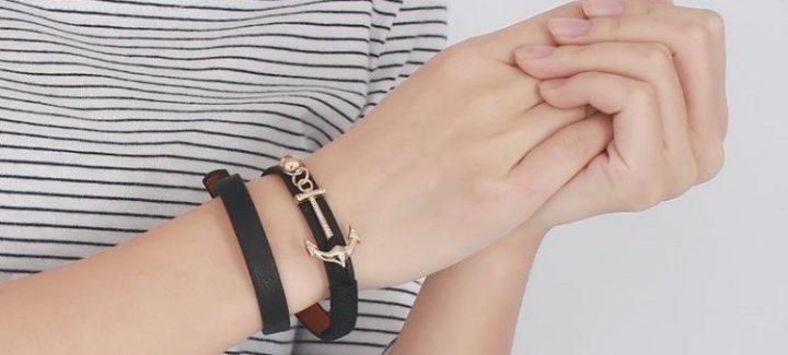 27 Unique Mens Leather Bracelets