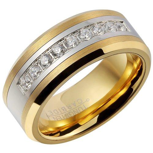 Fcl 18K Gold Plating Ring For Men