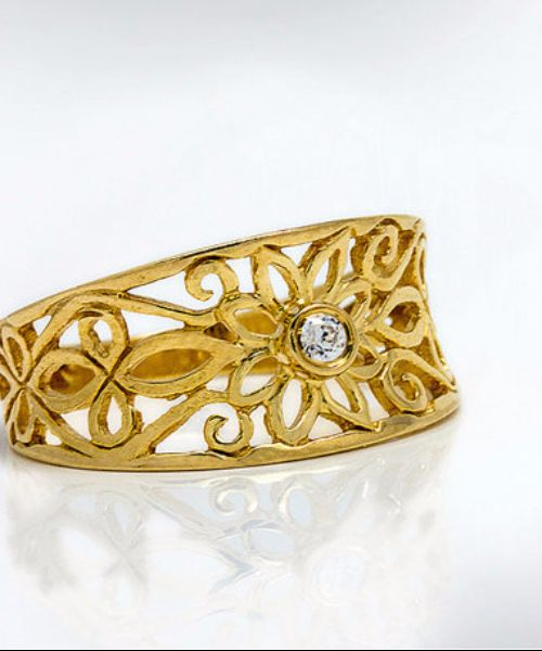 Filigree Engagement Rings For Women