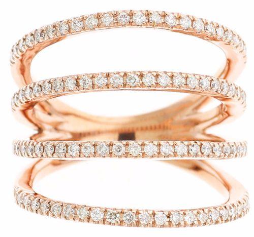Fine Rose Gold Bracelets
