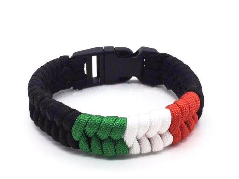 Fishtail Braid Paracord Bracelet
