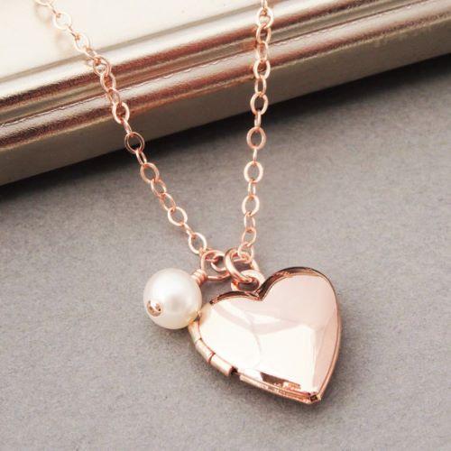 Floating Charm Locket Necklace
